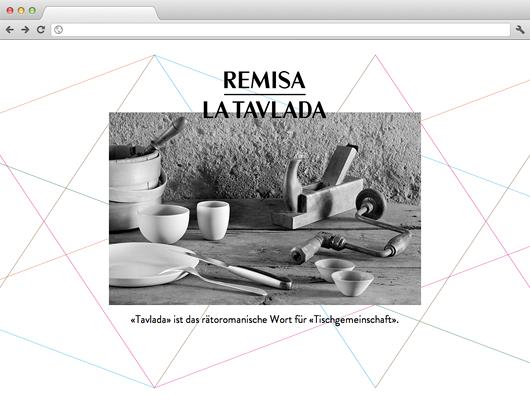Remisa, La Tavlada – Andreas Caminadas ausgezeichnete Küche in neuem Ambiente