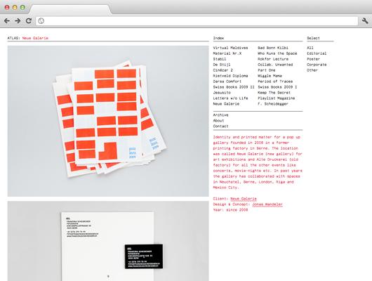 ATLAS – aufstrebendes Grafikbüro in Zürich
